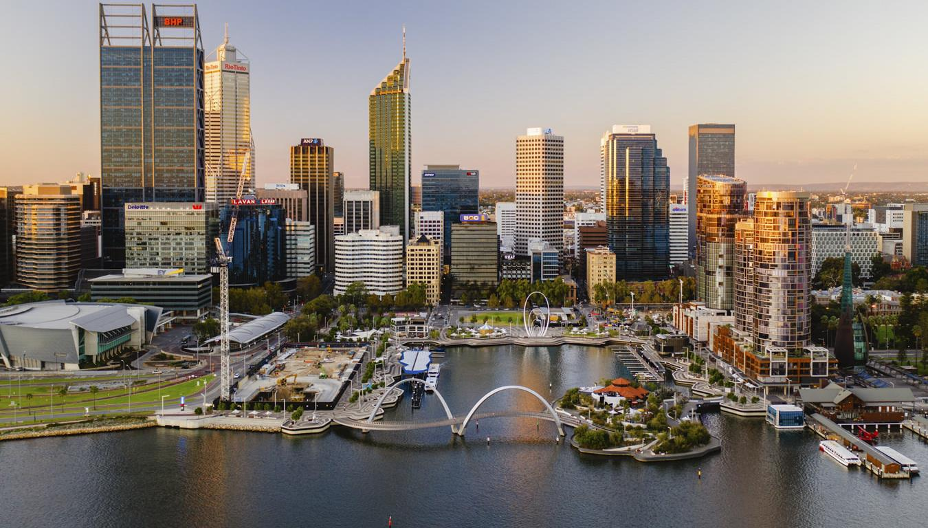 Perth after lockdown